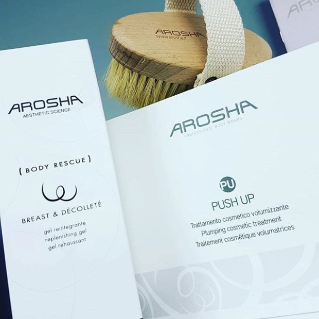 Arosha PUSH UP body wrap kit was specifically developed for